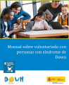 Manual sobre voluntariado con personas con síndrome de Down