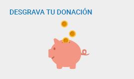 Donar más es pagar menos